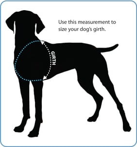 Ruff Wear Girth Sizing