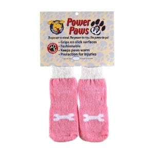 Power Paws Traction Socks for Dogs Help on Hardwood Floors
