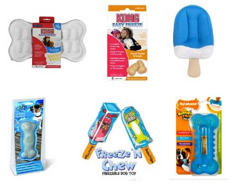 Tripawds Gear 187 Keep Hot Dogs Cool With Frozen Treats And Toys