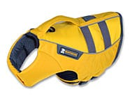 Yellow Ruffwear PFD Life Jacket for Dogs