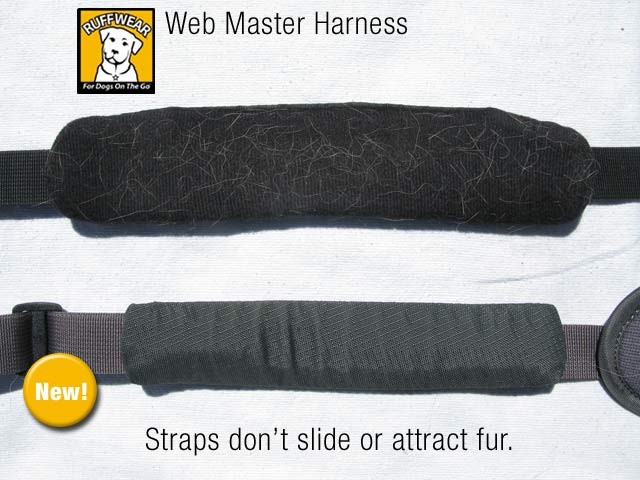 New Ruff Wear Web Master Harness feature Comparison