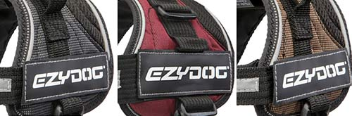 Tripawd EzyDog Convert Harness Colors
