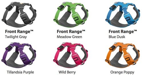 Ruffwear Front Range Harness Colors