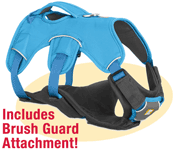 Ruffwear Web Master Harness with Brush Guard