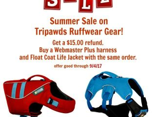 Tripawds Ruffwear gear sale