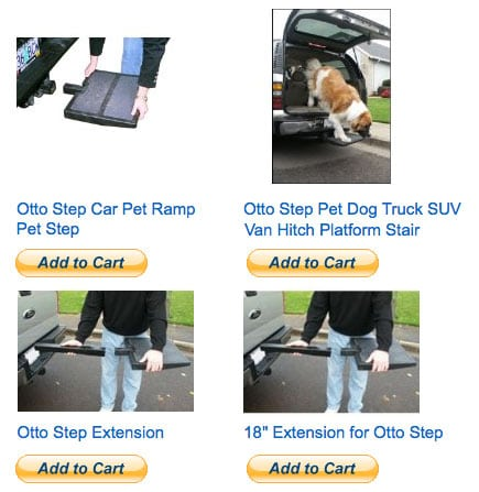 otto step pet step