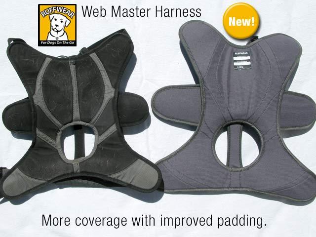 New Ruff Wear Web Master Harness feature Comparison
