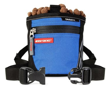 ezydog snakpak dog treat bag with belt