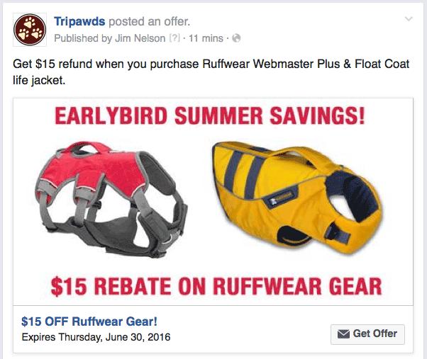Ruffwear Rebate