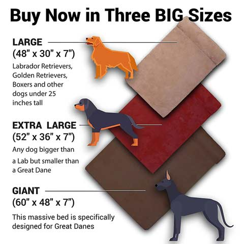 Big Barker Orthopedic Large Breed Dog Beds
