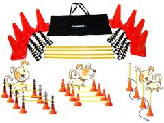 FitPaws Hurdle Set Agility Dog Training Kit