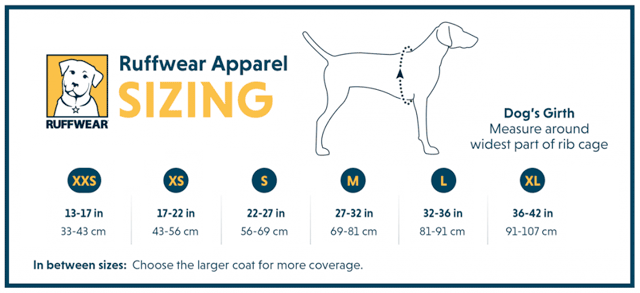 How to Measure Dog for Ruffwear Jacket