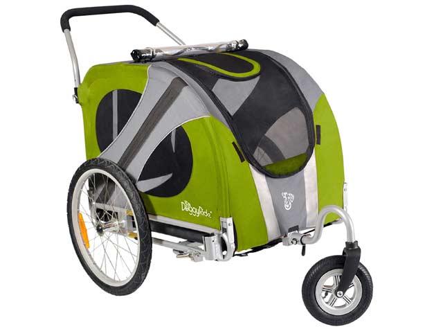 Tripawd dog stroller