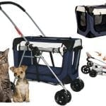 PetLuv 3in1 Small Dog or Cat Carrier Stroller