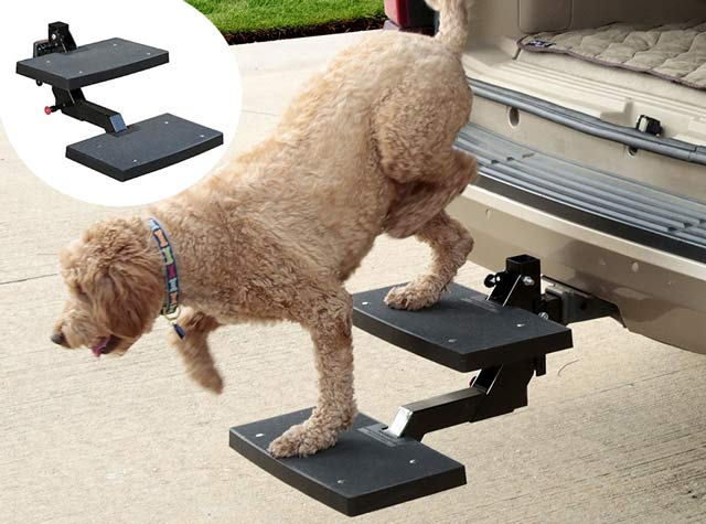 Solvit PupSTEP Hitch Step Dog Stairs