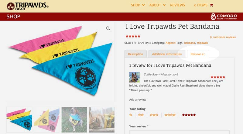 tripawds gear reviews