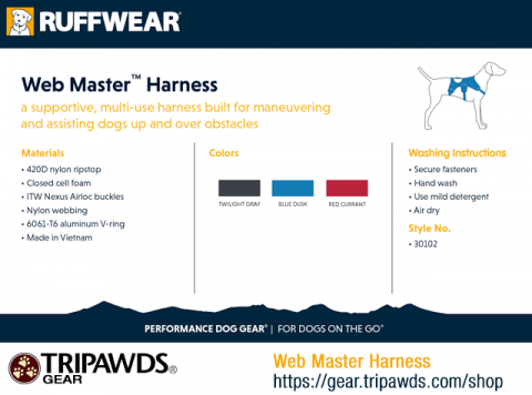 web master harness features