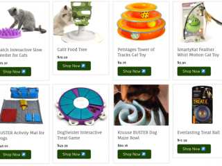 Tripawds Interactive Pet Games