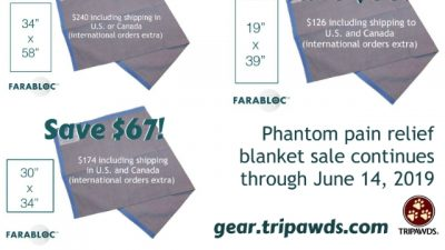 phantom pain relief blanket sale
