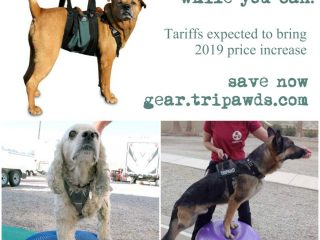 order Tripawds gear today