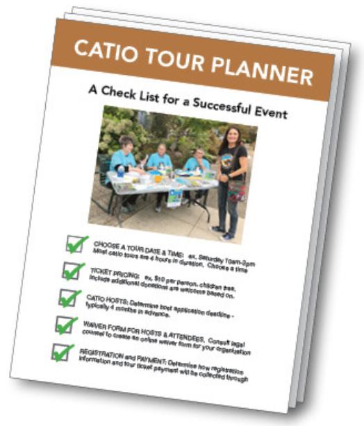 Cat Catio Tour Planner Guide