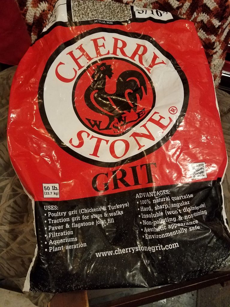 Cherry Stone Traction Grit