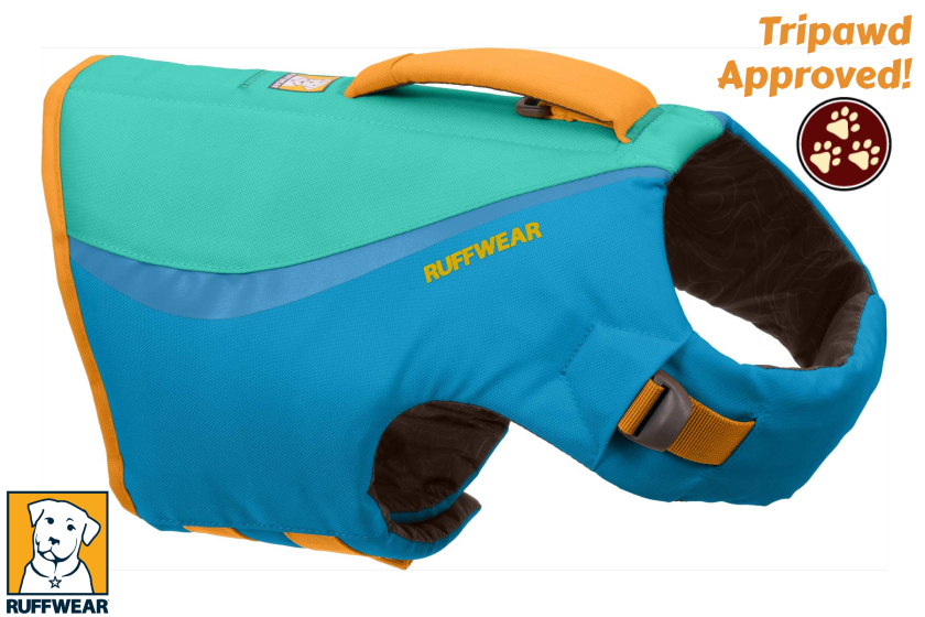 life jacket for dogs and Tripawds