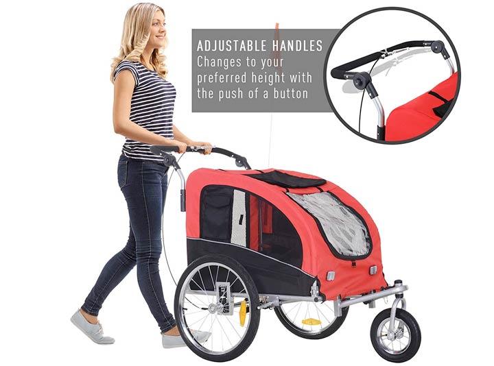 dog stroller bike trailer