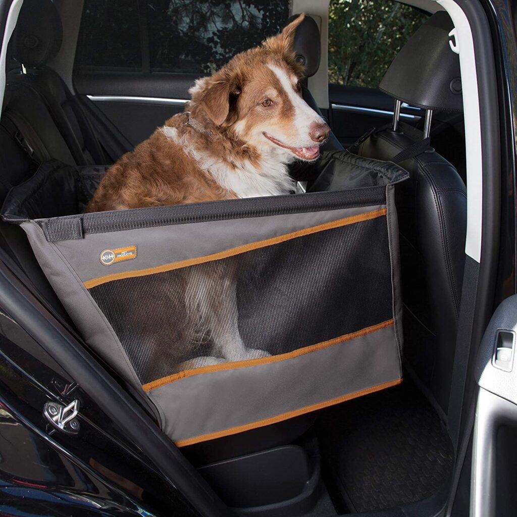small Tripawd dog car hammock