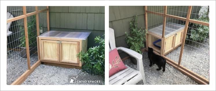 Outdoor Cat Litter Box Plans